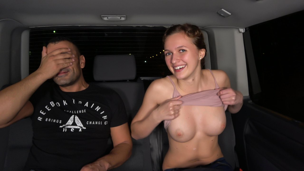 TakeVan – girl next door gets a ride of her life