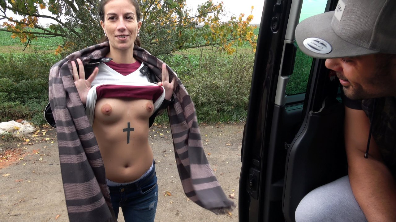 TakeVan – Ali Surprise Cock Massage In The Field