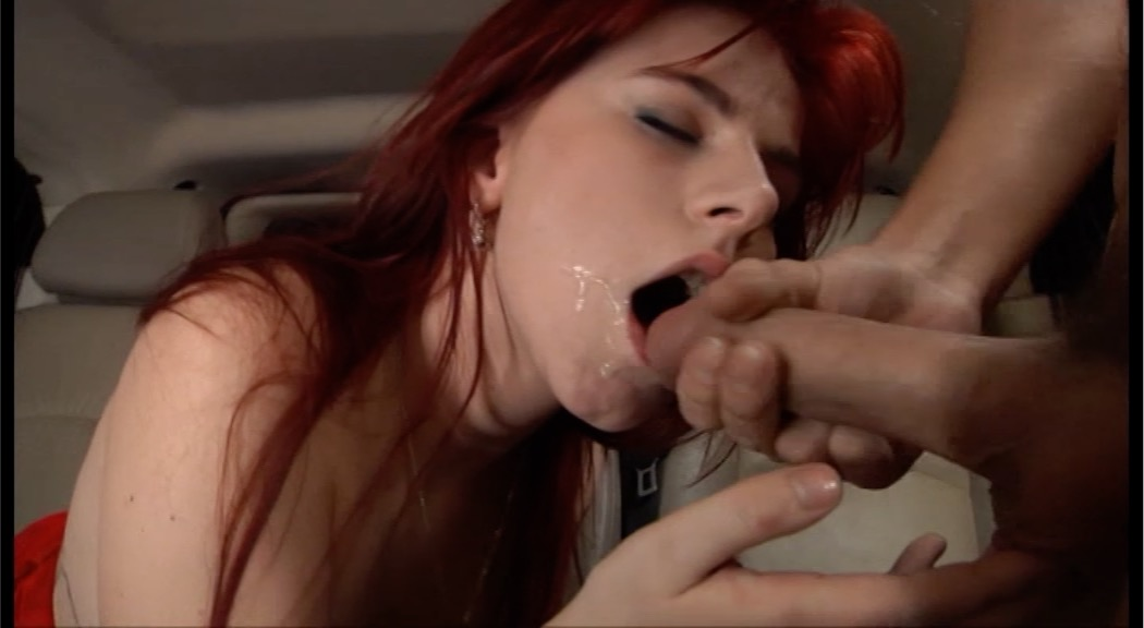 Redhead babe knows how to take a hard cock